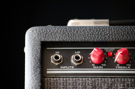 Amplifier for electric guitar or bass Stock Photo - 8998258