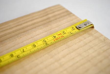 Measuring wood photo