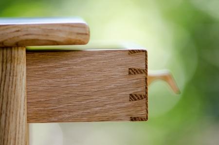 joinery: Dovetailed articolazione di un cassetto