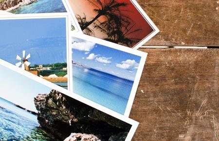 Pila de tarjetas postales