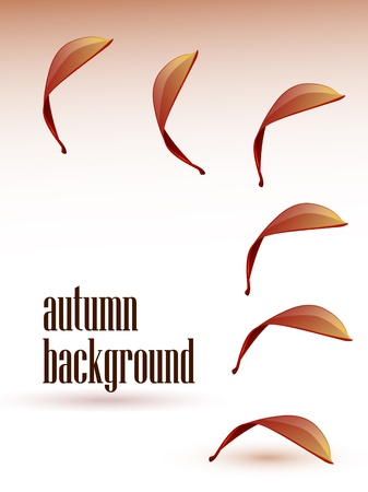 Autumn abstract background  Stock Vector - 10762876