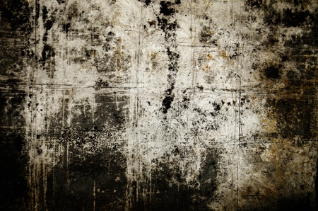 Fondo oscuro del grunge con textura
