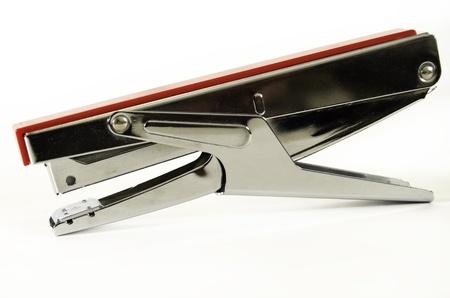 staplers: Office stapler on white background