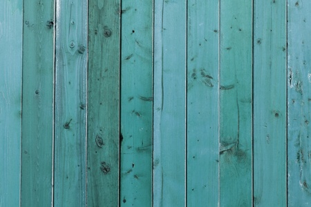 worn structure: Blue stained wooden planks background