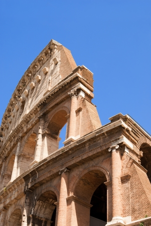 Detail of the Colosseum photo