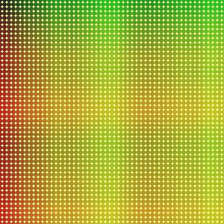 Los puntos de colores de fondo