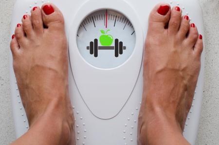 ダイエットやフィットネスのコンセプト イメージ 写真素材