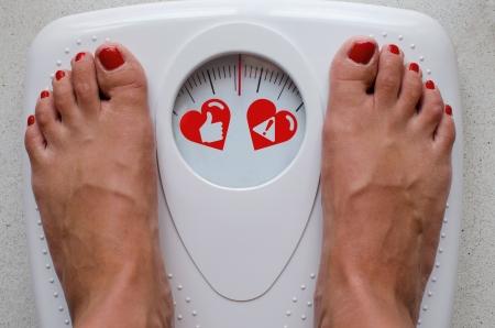 Dieta y Salud Foto de archivo