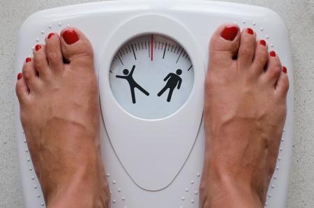 減量とダイエット 写真素材