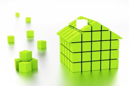 家とエネルギー効率の概念