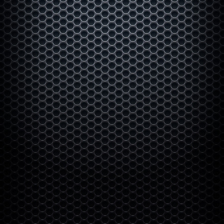 metallic background: Metallic background with perforated plate Illustration