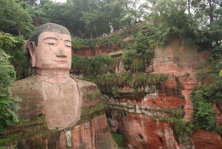 Bouddha g�ant de Leshan, en Chine