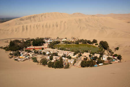Huacachina, Peru photo