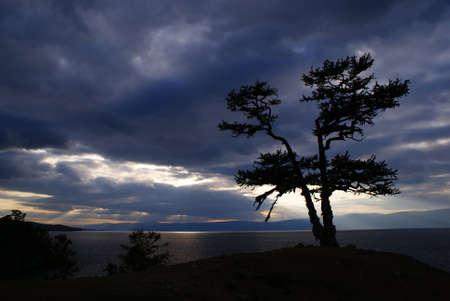 baikal lake, russia photo