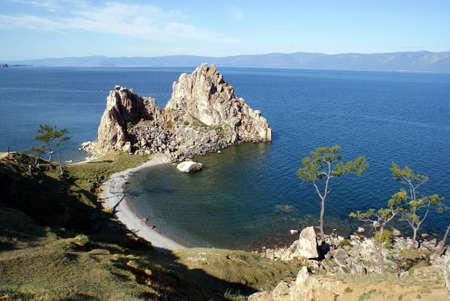 Le lac Ba�kal, en Russie