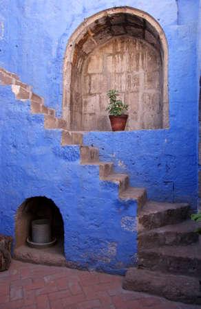 monastery of santa catalina, arequipa, peru photo
