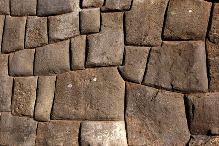 incan: sacsayhuaman, cusco, peru Stock Photo