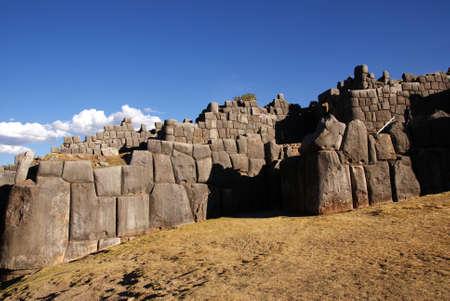 sacsayhuaman, cusco, peru Stock Photo