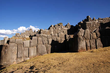cusco: sacsayhuaman, cusco, peru Stock Photo