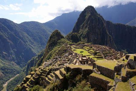 Machu Picchu, au P�rou