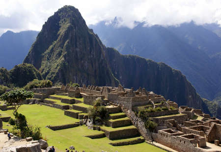 cusco: Machu Picchu, Peru Stock Photo