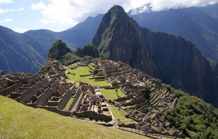 machu picchu, peru photo