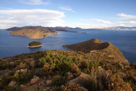 Isla del sol, Titicaca lake, Bolivia Stock Photo - 10961540