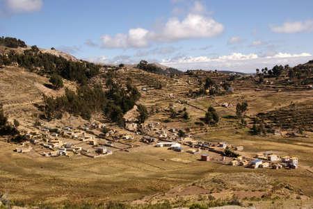 Isla del sol, Titicaca lake, Bolivia Stock Photo - 10961585