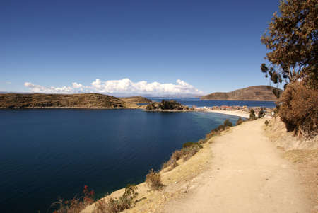 Isla del sol, Titicaca lake, Bolivia Stock Photo - 10961517