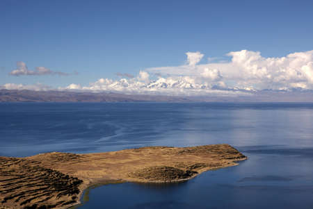 Isla del sol, Titicaca lake, Bolivia Stock Photo - 10961485