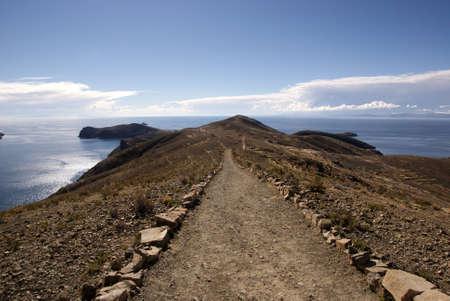 Isla del sol, Titicaca lake, Bolivia Stock Photo - 10961532