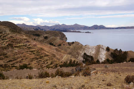 Isla del sol, Titicaca lake, Bolivia Stock Photo - 10961549