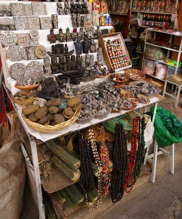 Witches Market, La Paz, Bolivia Stock Photo - 11091826