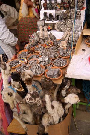 마녀 시장, 라 파스, 볼리비아