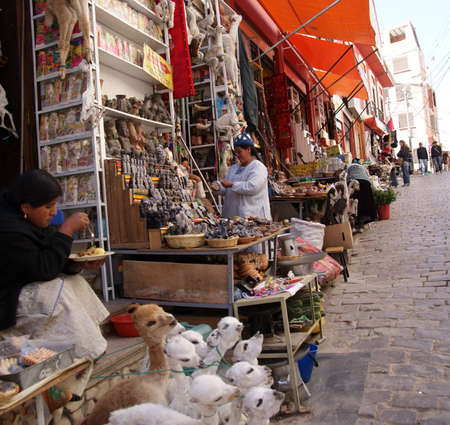 Witches Market, La Paz, Bolivia