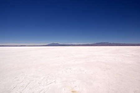 Salar d'Uyuni, en Bolivie Banque d'images