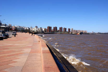 Coast, Montevideo, Uruguay Editorial