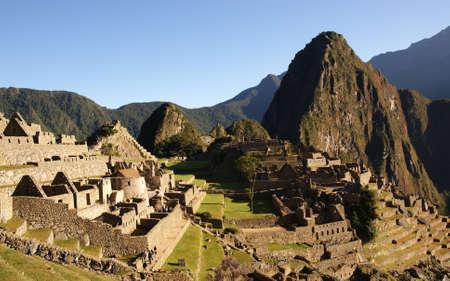 pre columbian: machu picchu, peru