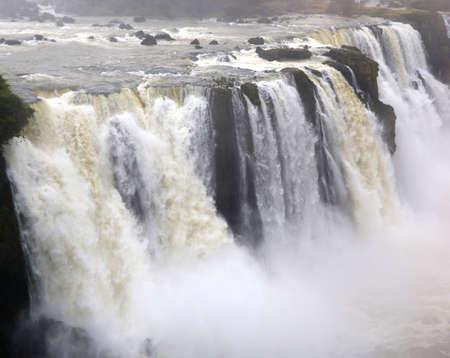 Chutes d'Iguazu, le Br�sil, l'Argentine