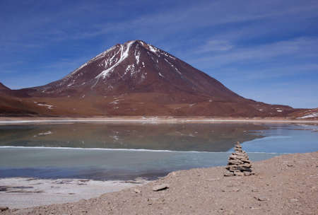 Laguna Verde, Bolivia Stock Photo - 11421398
