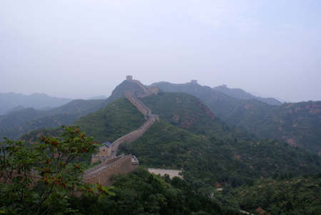 The great wall, China photo