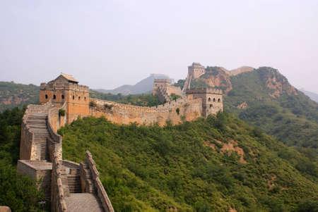 La grande muraglia, Cina Archivio Fotografico - 11421585
