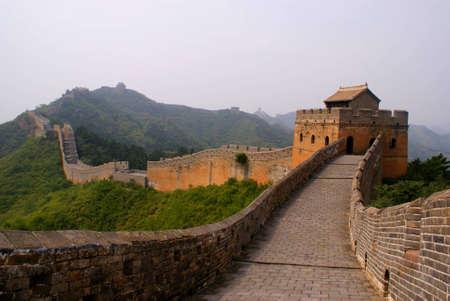 La grande muraille, la Chine Banque d'images
