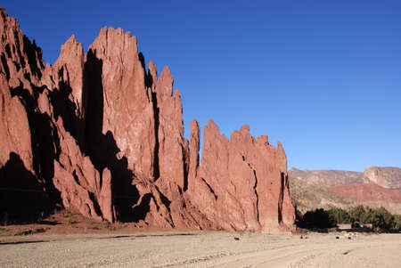 Amaizing landscape near Tupiza, Bolivia photo