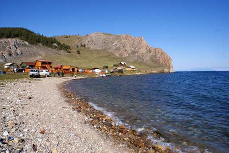 Olkhon island, Baikal lake, Russia photo