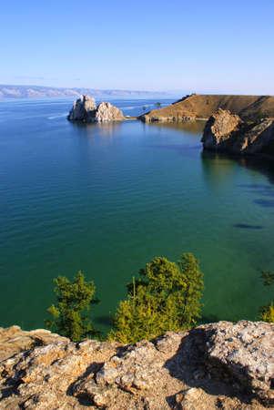 L'�le d'Olkhon, lac Ba�kal, en Russie
