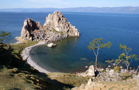 Olkhon island, Baikal lake, Russia photo