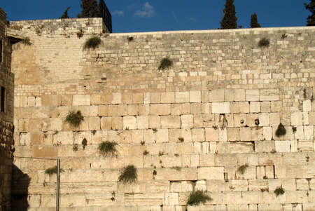 The Wailing Wall, Jerusalem, Israel photo