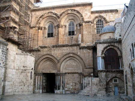 Church of the Holy Sepulchre, Jerusalem, Israel Stock Photo - 11810187