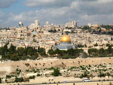 La vieille ville de J�rusalem, Isra�l Banque d'images